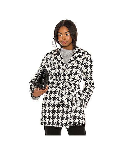 Белое кашемировое пальто с карманами Theory