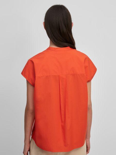 Красная блузка с воротником Marc O'polo Denim