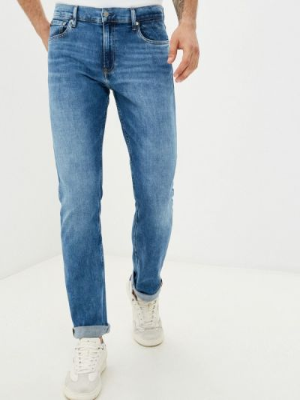 Голубые джинсы осенние Calvin Klein Jeans