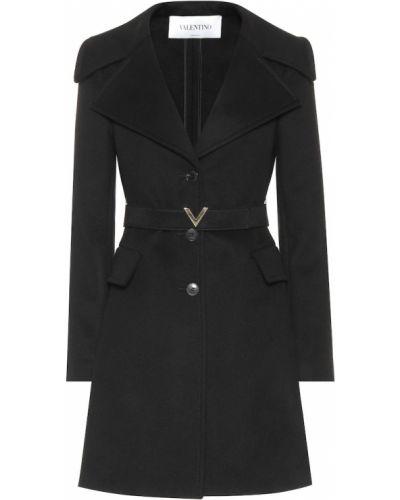 Зимнее пальто зеленое шерстяное Valentino