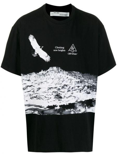 Koszula krótkie z krótkim rękawem prosto z nadrukiem Off-white