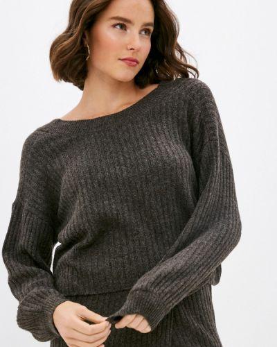 Коричневый пуловер Pieces
