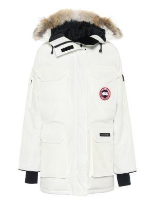 Пуховая парка - белая Canada Goose