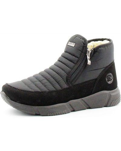 Ботинки сетчатые - черные Progress