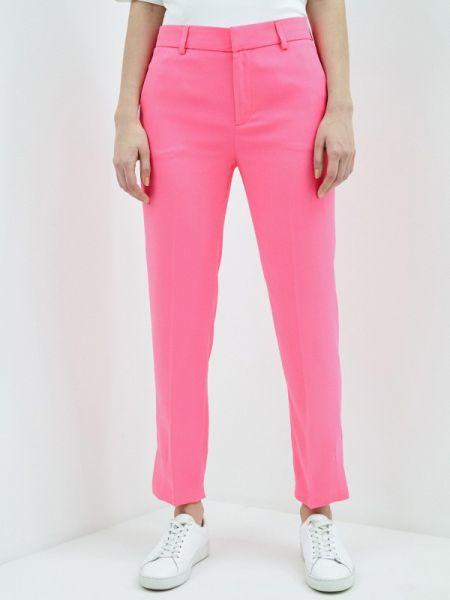 Розовые классические брюки с карманами Ice Play