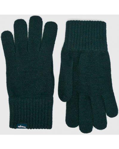 Rękawiczki akryl czerwony Wrangler