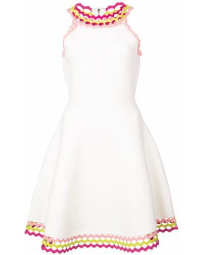 Платье мини с вышивкой платье-солнце Milly