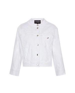 Джинсовая куртка куртка-жилет Emporio Armani
