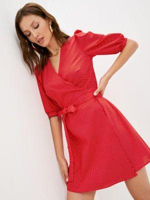 Платье с запахом - красное Trendyangel