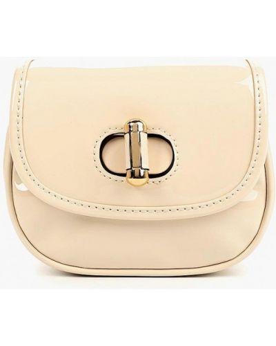 Кожаный сумка лаковая поясная Topshop