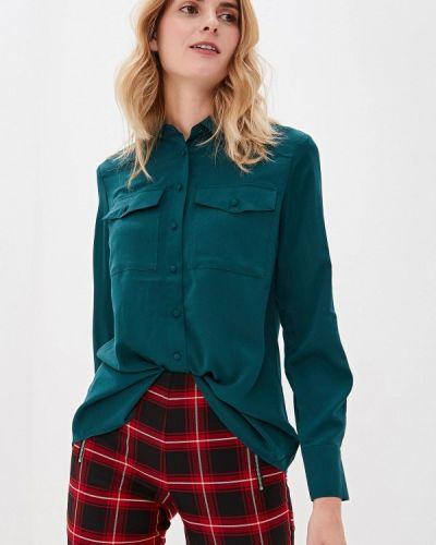 Блузка с длинным рукавом зеленый Sisley