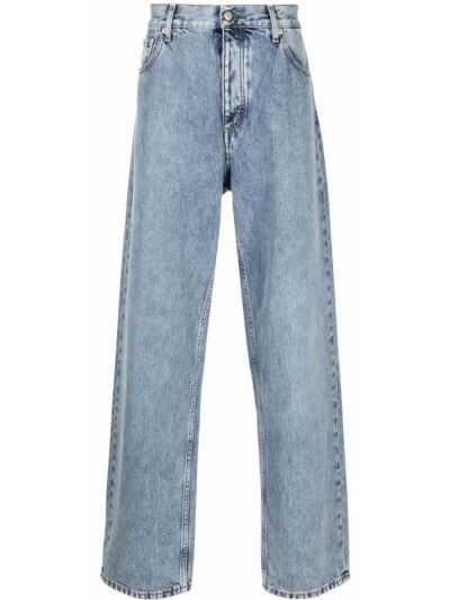 Niebieskie klasyczne jeansy Eytys