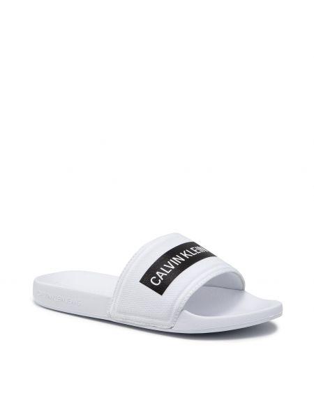 Białe sandały na lato Calvin Klein Jeans