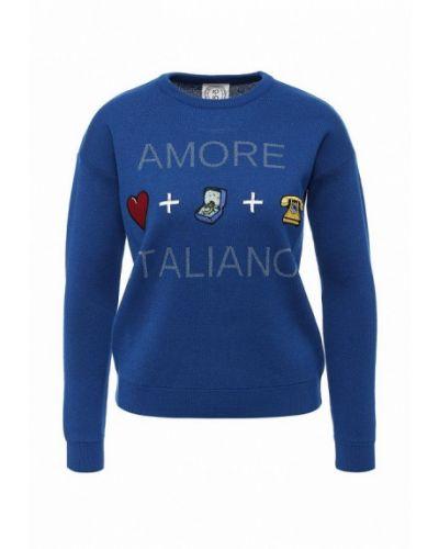 Синий джемпер итальянский 10x10 An Italian Theory