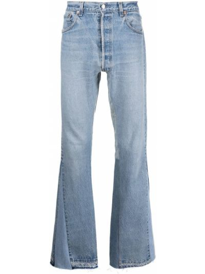 Klasyczne niebieskie jeansy bawełniane Gallery Dept.