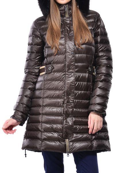 Хлопковая куртка - коричневая Duvetica
