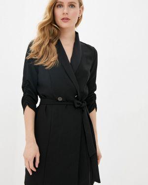 Платье платье-пиджак черное Naf Naf
