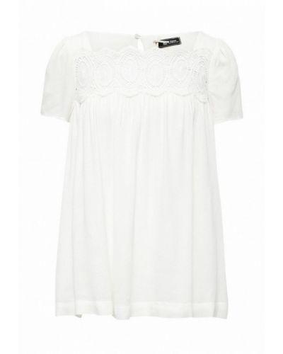 Блузка с коротким рукавом белая весенний SinÉquanone