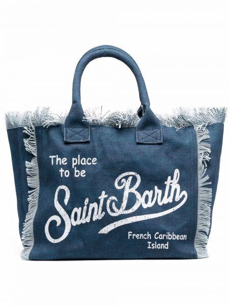 Сумка тоут - синяя Mc2 Saint Barth