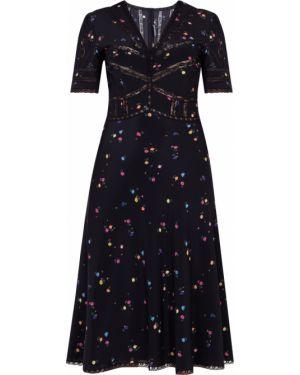 Платье мини миди с цветочным принтом Ermanno Scervino