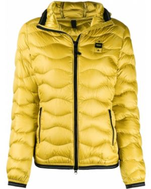 Прямая горчичная стеганая куртка двусторонняя Blauer