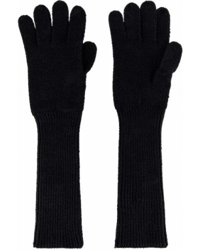 Czarne rękawiczki wełniane na co dzień Reebok X Victoria Beckham