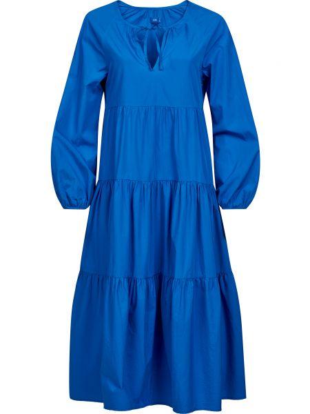 Хлопковое синее платье Closed