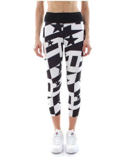 Czarne legginsy z printem Calvin Klein