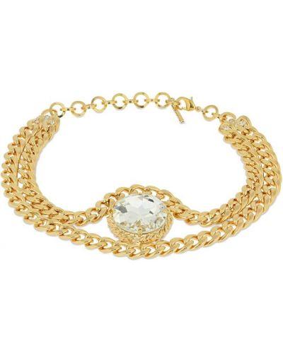Złoty łańcuszek pozłacany Alessandra Rich