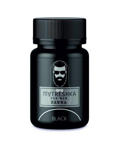 Черная хна для бровей Matreshka