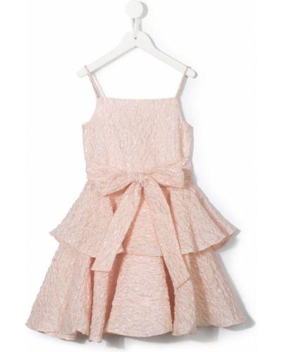 Платье на молнии розовый Little Bambah