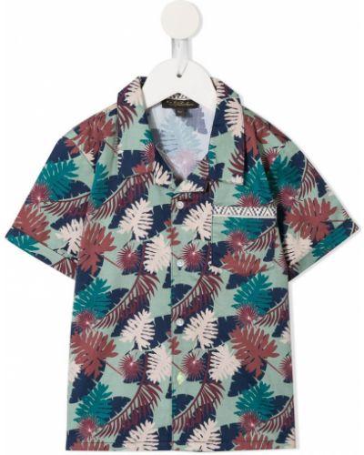 Klasyczna klasyczna koszula krótki rękaw bawełniana Velveteen