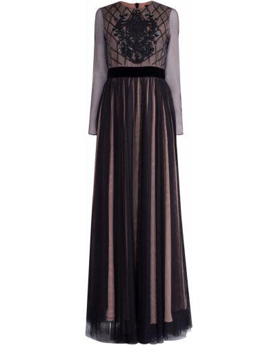 Платье макси с поясом со складками Tara Jarmon