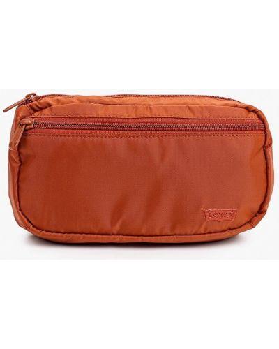 Текстильная поясная сумка - коричневая Levi's®