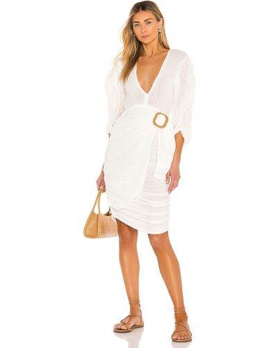 Белое платье миди бохо свободного кроя Jens Pirate Booty