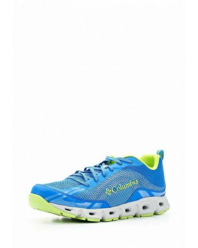 Синие кроссовки Columbia
