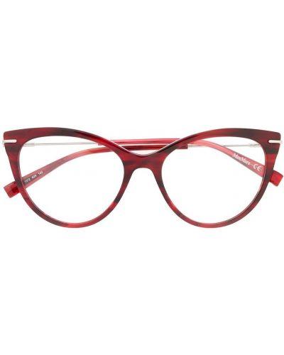 Футляр для очков металлические - красные Max Mara