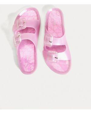 Сланцы розовый пляжные Oysho
