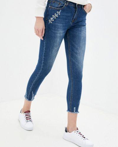Синие джинсы-скинни узкого кроя G&g