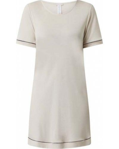 Biała koszula nocna krótki rękaw Hanro