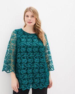 Блузка зеленый Blagof