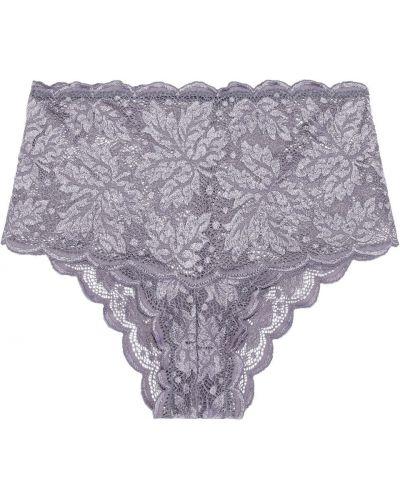 Liliowe włoskie majtki Cosabella