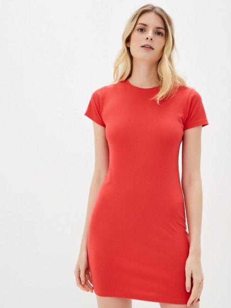 Футбольное красное платье Sublevel