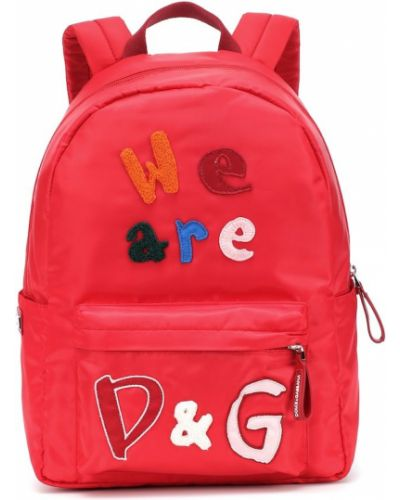 Plecak bawełniany Dolce & Gabbana Kids