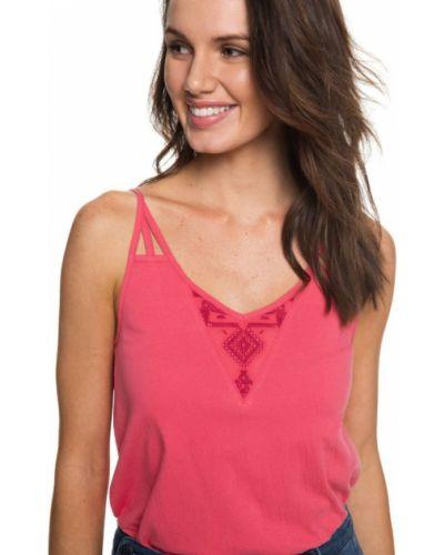 Розовая блузка Roxy