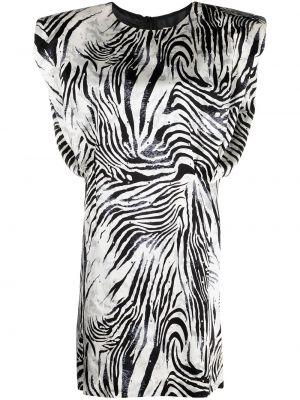 С завышенной талией шелковое платье круглое Magda Butrym