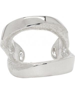 Pierścień srebro Pearls Before Swine