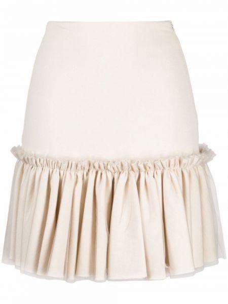 Biała spódnica bawełniana Viktor & Rolf