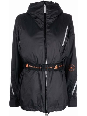 Куртка с капюшоном - черная Adidas By Stella Mccartney