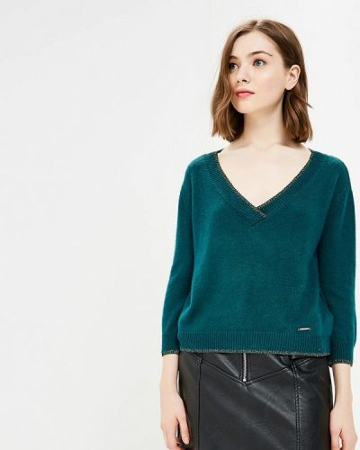 Зеленый пуловер 2018 Gaudi